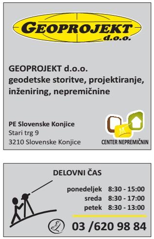 Nova geodetska pisarna Slovenske Konjice