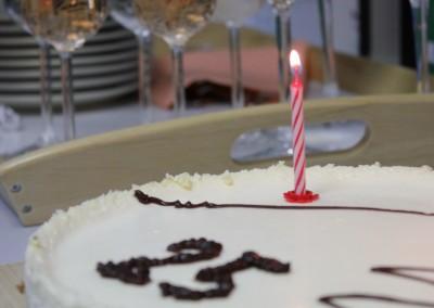 Geoprojekt 25 let - torta