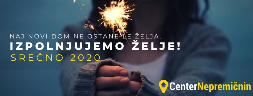 Naj vas spremlja sreča v letu 2020